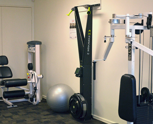 Gym weight equipment