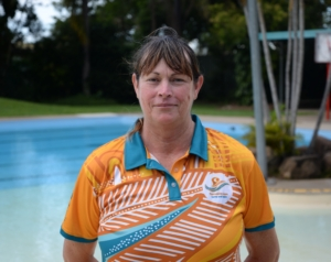 Photo of swim teacher